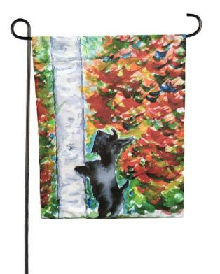 archy scottie garden flag 2