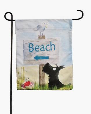 archy scottie garden flags